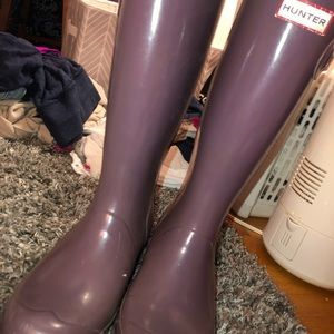 Hunter full length rain boots